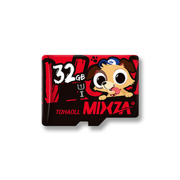 Mixza Year of the Dog Limited Edition U1 32GB TF Memory Card Photography & Camera Acc from Electronics on banggood.com