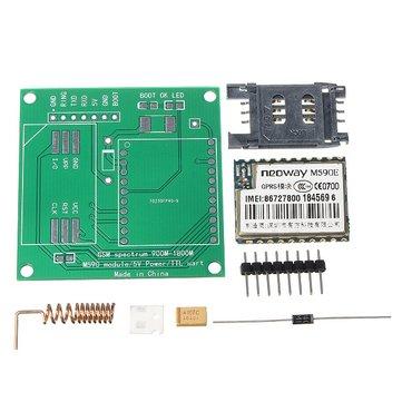 DIY M590E GSM GPRS İletişim Modülü Kit Çift Band 900 / 1800MHZ 85.6 Kbit / s 900m-1800m Arduino için