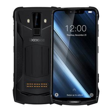 DOOGEE S90 6.18 Inch FHD+ IP68 Waterproof NFC 5050mAh 6GB RAM 128GB ROM Helio P60 Octa Core 4G Smartphone