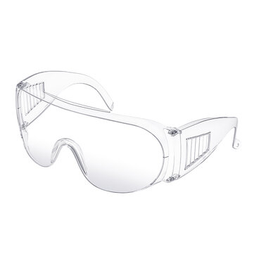 DIGOO DG-SY218 Anti-Fog Anti-Droplet Protective Safety Goggles Clear Lens Wide-Vision Anti-Spittle Anti-Dust Anti-Impact Goggle Eye Daily Protection