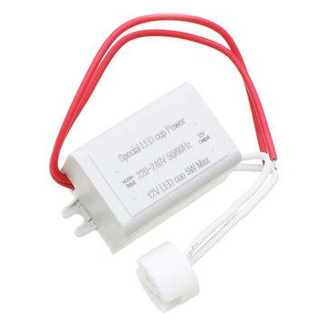 MC16 MR5 लैंप बल्ब के लिए AC1220-240V DC12V 5W बिजली आपूर्ति एलईडी चालक लाइट ट्रांसफार्मर