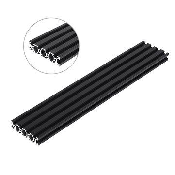Machifit 200-1000mm Noir 2080 V-Fente Profilé En Aluminium Extrusion Cadre pour Outil CNC DIY