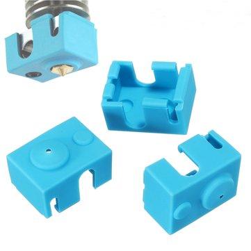 3PCS Hotend Silicone Case For V6 PT100 Aluminum Block 3D Printer Part