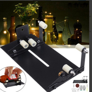 DIY Glass Bottle Cutter Cutting Tool Upgrade Version Square & Round Cutting