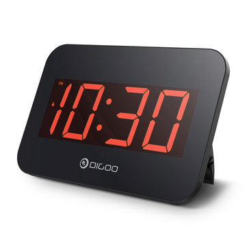 Digoo DG-K4 Multifunctional Time Snooze Automatically Electronical Digital Alarm Clock Power Options