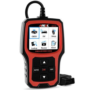 Ancel AD410 OBD2 Original OBD EOBD Automotive Car Diagnostic Scanner Tool  Code Reader Scan Tools