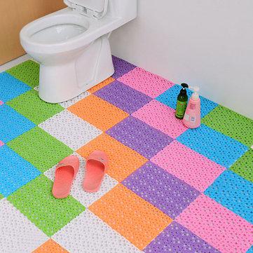 DIY Carpet Candy Colors Plastic Bath Mats Massage Carpet Shower Room Non-slip Mat
