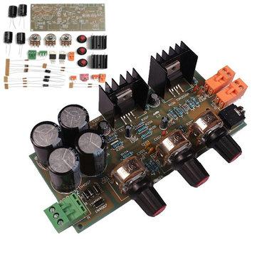 TDA2030A 2.0 Ses Amplifikatör Modül Kartı 18W * 2 Çift Parça DIY Kit