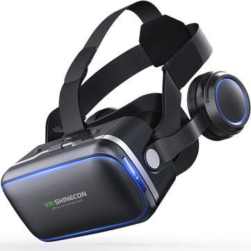 4.7-6.0インチ  スマートフォン用 VR Shinecon 6.0 360 度  ステレオ   3D   バーチャル    リアリティ ガラス   ボックス    ヘッドセット