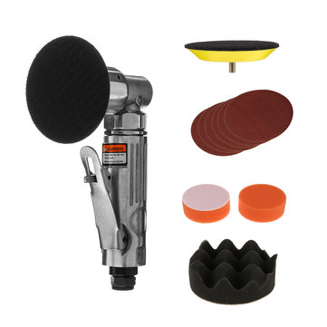 $35.14 for 11Pcs 3 Inch Random Orbital Air Palm Sander Polisher Pad Set