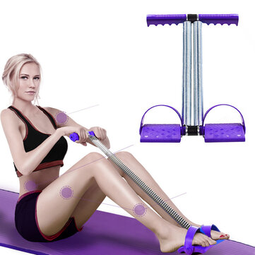 Buy Multifunctional Pedal Puller Sit-ups Arm Muscles Training Home Fitness Pull Rope Spring Exerciser with 8 on Gipsybee.com
