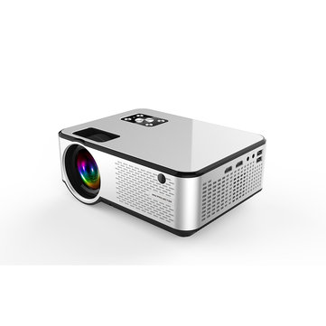 Cheerlux C9 LCD Projector Android 2800 Lumens 1280 x 720 Native Resolution Home Entertainment Commercial Projector