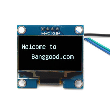Geekcreit® 1 3 Inch 4Pin White OLED LCD Display 12864 IIC I2C Interface  Module For Arduino