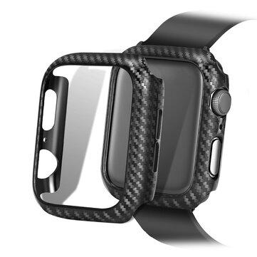 Vỏ đồng hồ Bakeey Carbon Fiber Đồng hồ đeo tay cho dòng táo Watch 1/2/3/4