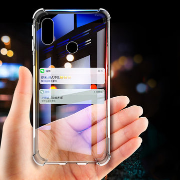 Bakeey Shockproof Transparent Soft TPU Protective Case for Xiaomi Mi Max 3