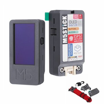 M5Stack® M5Stick ESP32 Mini Development Board Kit 1.3Inch OLED Buzzer IR Transmitter Mpu9250 with Watch Belt