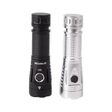Fireflies E01 SST40W N5 5700 K 2300 Lumens EDC LED Senter 21700 18650