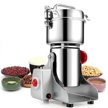 700g Electric Grains Spices Hebals Cereal Dry Food Grinder Mill Grinding Machine Blender Coupon Code and price! - $107