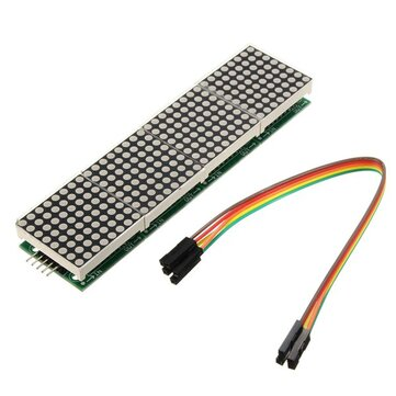 Arduino के लिए Geekcreit® MAX7219 डॉट मैट्रिक्स मॉड्यूल 4-इन-1 डिस्प्ले