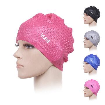 Đàn ông Phụ nữ Phổ quát Không thấm nước Silicone Nước Thả chống trượt Mũ Earmuffs