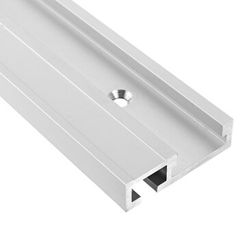 Drillpro Aluminum Alloy 45 Type T-slot T-track Miter Track Jig Fixture Slot 45x12.8mm For Table Saw Router Table Woodworking Tool