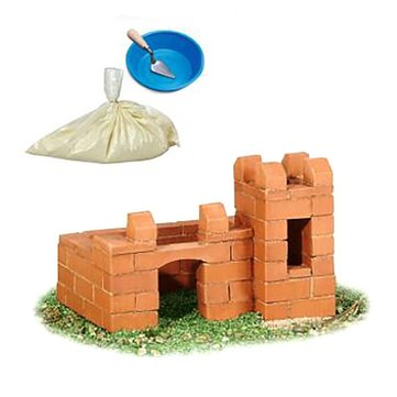 Wisdom Built DIY Model Building Lifelike Bricks Construction Building A House Beach Toy
