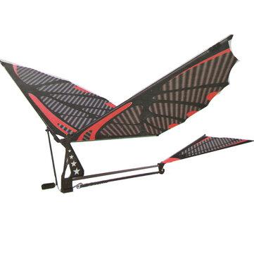 18 palců Eagle uhlíkové vlákno ptáků shromáždění klapka křídla letu DIY model letadla letadla hračka s krabičkou