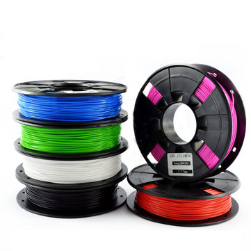 TEVO®ブラック/ホワイト/ブルー/オレンジ/グリーン/ピンク/レッド1KG 1.75mm ABS 3Dプリンター用フィラメント