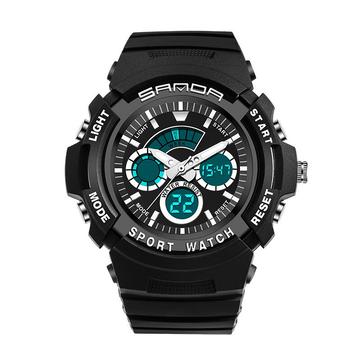 Đồng hồ kỹ thuật số thời trang trẻ em SANDA 138 Bơi đồng hồ đôi thể thao