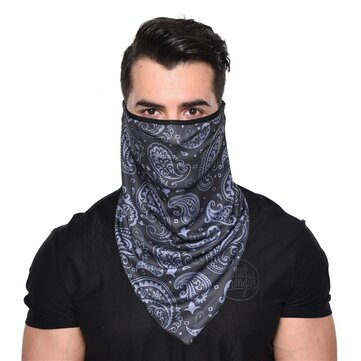 Buy 3D Quick Dry Breathable Riding Face Mask Windproof Sunproof Outdoor Multifunction Triangle Scarf with Litecoins with Free Shipping on Gipsybee.com