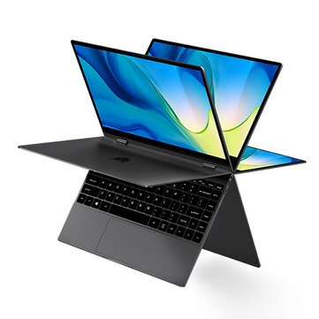 [New Edition]BMAX Y13 Pro YUGA Laptop 13.3 inch 360-degree Touchscreen Intel Core m5-6Y54 8GB RAM 256GB SSD 38Wh Battery Full-featured Type-C Backlight 5mm Narrow Bezel Notebook