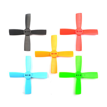 10 Pairs Racerstar 2035 50mm 4 Blade Propeller 1.5mm Mounting Hole For 80-110 RC Drone FPV Racing Multi Rotor