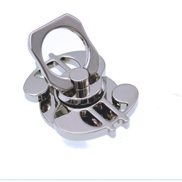 Zinc Alloy Phone Ring Rotating Fidget Hand Spinner ADHD Autism Reduce Stress Toys