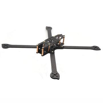 HSKRC XL5/6/7/8/9 232/283/294/360/390mm Carbon Fiber FPV Raicng Frame kit for RC Drone