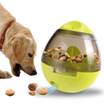 Yani Creative Egg Shape Kubek Pet Food Dispenser Dog Cat Toy Pet Training Interaktywna piłka dla średnich lub małych zwierzaków