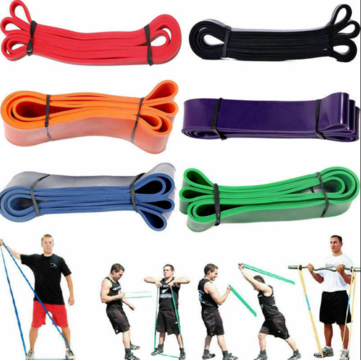 2080 x 2.5mm Yoga Tension Straps Exercise Gym Sports Elastic Bands Fitness Resistance Band