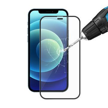 BlitzWolfBW AY4 9H 0.25mm HD Anti Explosion Anti Scratch Anti fingerprint Full Glue 3D Full Cover Tempered Glass Screen Protector For iPhone 12 mini 5.8 inch or 12 6.1 inch or 12 Pro 6.1 inch or 12 Pro Max 6.7 inch