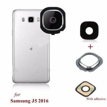 newest 5e3b8 32073 Back Rear Camera Glass Frame Holder Lens Cover For Samsung Galaxy J5 2016