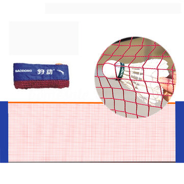 6.1M / 20ft Nylon Red Portátil Plegable de Bádminton Voleibol Tenis Fútbol Red