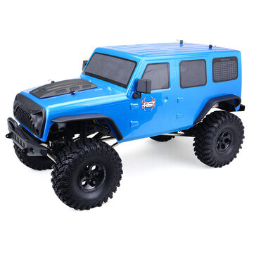 RGT EX86100 1/10 2.4G 4WD 510mm Brushed Rc Car Off-road Monster Truck Rock Crawler RTR