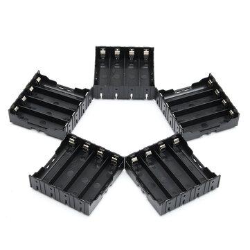 5 PCS Kekuatan Tinggi Baterai Plastik Case Holder untuk baterai Li-ion 4x3.7V 18650