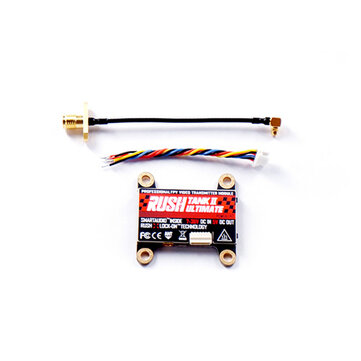 RUSH TANK II V2 Ultimate 5.8G 48CH Raceband PIT/25/200/500/800mW Switchable 2-8S VTX FPV Transmitter for RC FPV Racing Freestyle Nazgul5 Tyro129