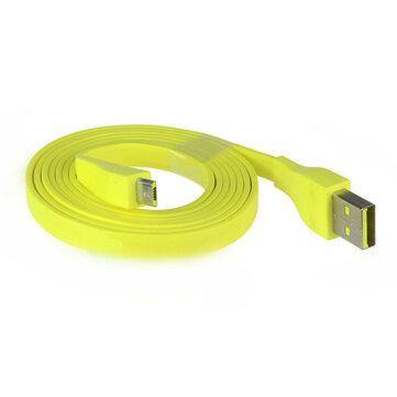 लॉजिटेक यूई बूम ब्लूटूथ स्पीकर के लिए 1.2 एम पीला माइक्रो यूएसबी चार्जिंग केबल