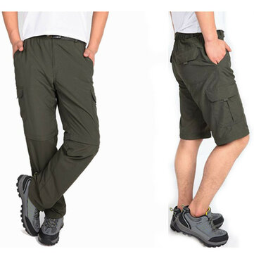 Outdoor Mens Bike Bicycle Cycling Riding Pants Riding Trousers Removable