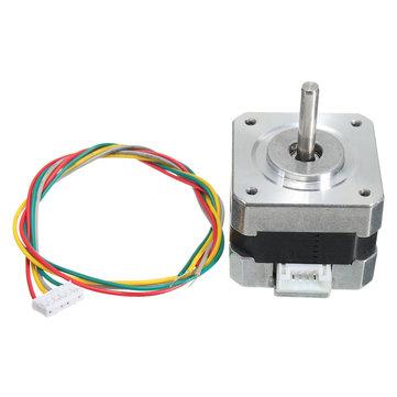 42 Stepper Motor 4 Leads 34mm 12V 0.4A 26Ncm 3D Printer Micro Stepper Motor