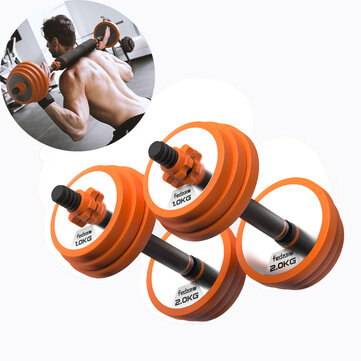 FED FED XM8009 Pure Steel Home Dumbbell Barbell Horizontal Bar Multifunctional Indoor Sports Fitness Equipment