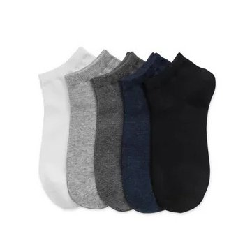 PULPOL SOCKS 5Pcs Men Ankle Socks Cotton Anti-allergy No Odor Anti-bacterial Socks 4 Seasons From Xiaomi Youpin