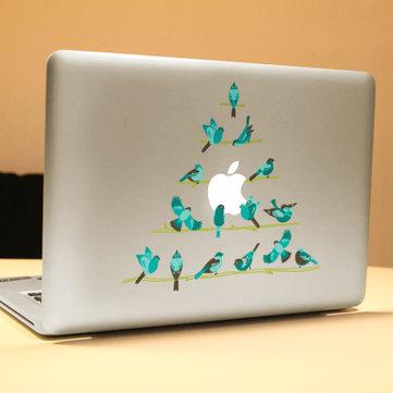 PAG Little Bird Dekorativ Laptop Dekal Removerable Bubble Free Selvklebende Skin Sticker