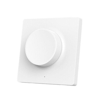 Yeelight YLKG08YL Smart Bluetooth Wall Pasted Dimmer Light Switch til loftslampe (Xiaomi Ecosystem Product)