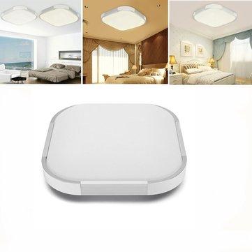 12W 18W 24W Tấm trần LED hiện đại Đèn chiếu sáng bề mặt gắn đèn trắng / ấm trắng cho nhà bếp AC220V